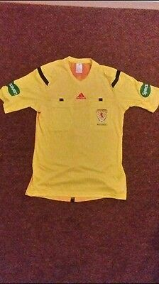 adidas SFA Referee Top Mens Medium (Yellow)