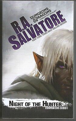 Night of the Hunter R A Salvatore D&D Companions Codex 1