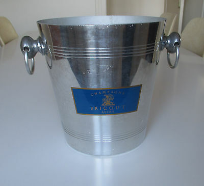 Seau à Champagne Bricout ice bucket french wine 170202D1