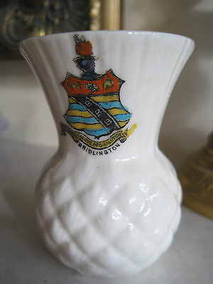 Lovely ARCADIAN CRESTED CHINA POT with BRIDLINGTON CREST