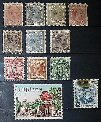 PHILIPPINES Mixed Unchecked Stamps (No1129)
