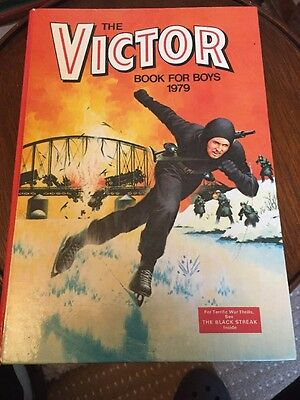 Victor Book For Boys 1979