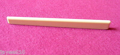 Classical Guitar Saddle Cream Coloured 80 x 3 x 8.3 to 6.3mm UK