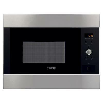 Zanussi ZBM26542XA Built In Microwave 26L 900 Watt Stainless Steel