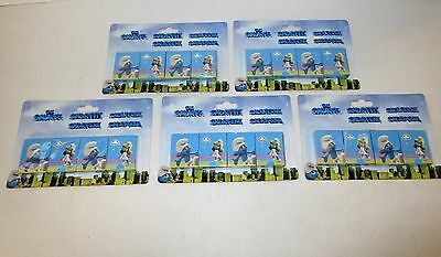 20 Packs of Smurfs Snap Cards - Smurf Party Bag Fillers - Party games