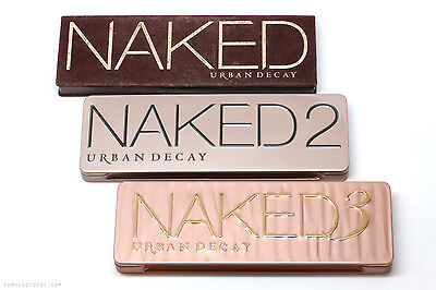 NAKED -Urban 1 2 3 EYE SHADOW PALETTE DECAY