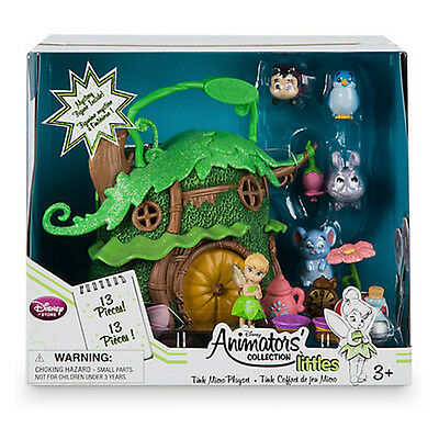 New Official Disney Tinkerbell Animators' Collection Micro Playset