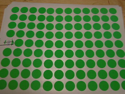 360x Round Price Lables (GREEN) 2cm round price paper stickers BUY NOW = Boyz SA