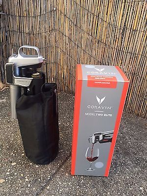 CORAVIN Model Two Elite Wine Pouring System - Silver