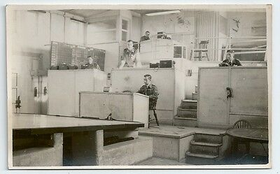 ~WW2 Operation Room at RAF Hal Far Airfield MALTA PC-size Real Photo Card