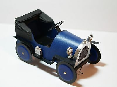 Dolls House Miniature Handmade Toy Pedal Car in 1:12 Scale
