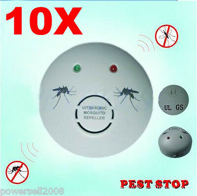 10 X 2012 New Model Garden And Home Electronic Ultrasonic Mosquito Repeller
