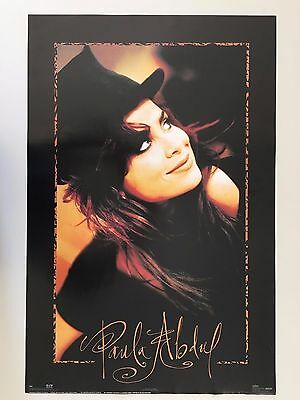 Paula Abdul Photographed By Alberto Tolot, Rare Authentic 1991 Poster