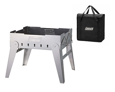 Coleman Fire Stage Foldable Compact Size Stainless BBQ Camp Picnic Yard Outdoor