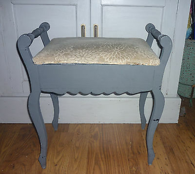 Nice quality VINTAGE WOODEN PIANO STOOL