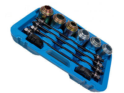BERGEN 26pc Press and Pull Bearing Remover Installer Sleeve Kit  34 - 82MM A6123