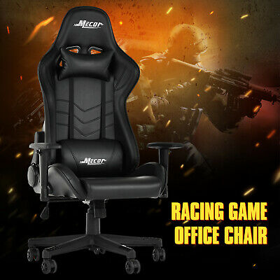 High Back Executive Racing Gaming Chair Reclining Office Chair with Footrest