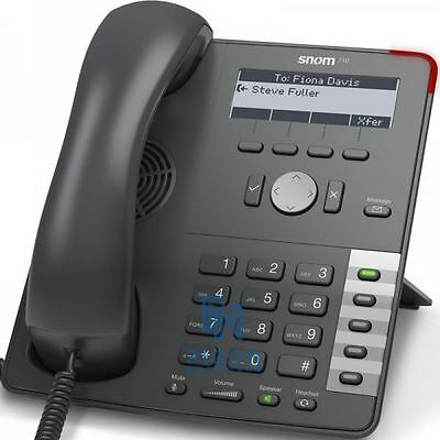 SNOM 710 VoIP SIP Phone *Grade A* 1 Year warranty Inc VAT & Next Day Delivery