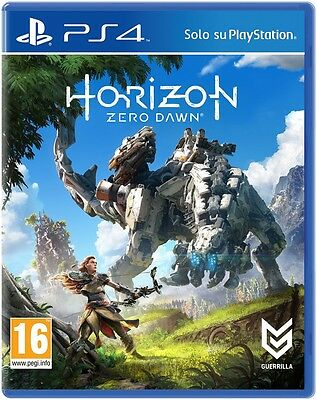 Horizon Zero Dawn Ps4 Italiano Playstation 4 Nuovo