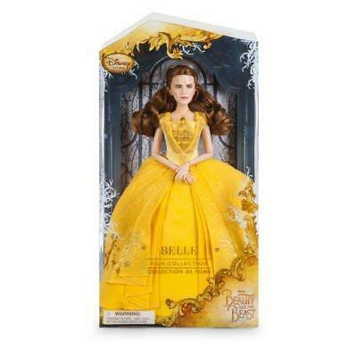 New Official Disney Beauty & The Beast Film Collection 28cm Belle Doll