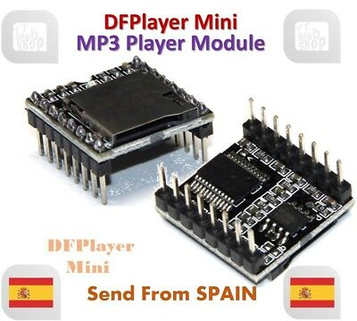 DFPlayer Mini MP3 Player Module MP3 Voice Module TF Card and USB Disk