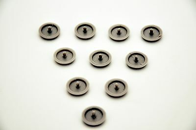 10 x JEEP CARS Seat Belt Buckle Buttons Holders Studs Retainer Stopper Pin Clip