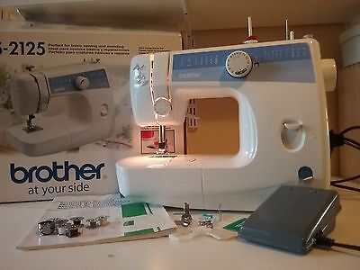Electric sewing machine, Brother LS-2125