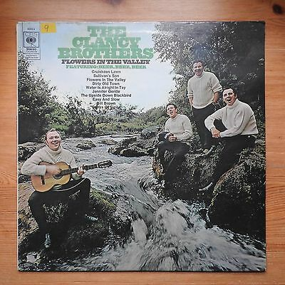 The Clancy Brothers - Flowers in the Valley LP vinyl CBS (1967) VG/VG+