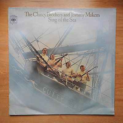 The Clancy Brothers & Tommy Makem Sing of the Sea LP vinyl CBS (1968) VG+/VG+