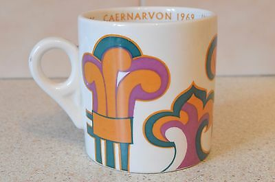 Prince Charles Prince Of Wales Investiture 1969 Mug Marianne Zara Kenneth Wright