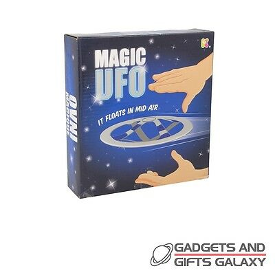 MAGIC UFO FLYING DISC IT FLOATS IN MID AIR! toy gift novelty childs kids adults
