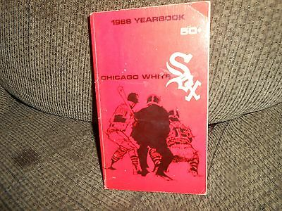 Chicago White Sox 1968 Year Book