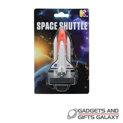 SMALL DIECAST SPACE SHUTTLE SET 18cm LONG toy gift novelty childs kids discovery