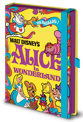 Official Disney Vintage Princess (Alice in Wonderland) Premium Notebook SR71871