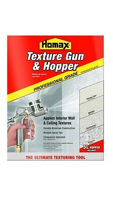 Homax Texture Gun and Hopper, 5 Liter, 4670