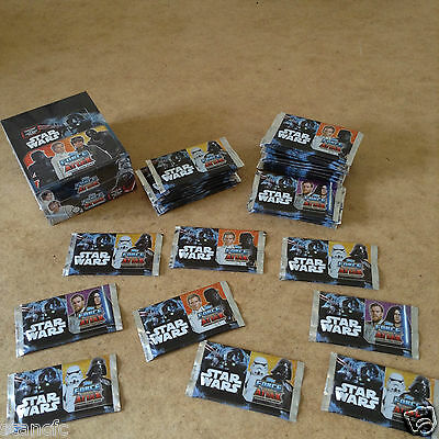 Topps Star Wars Force Attax Universe Trading Card Packets 8 Cards Per Packet