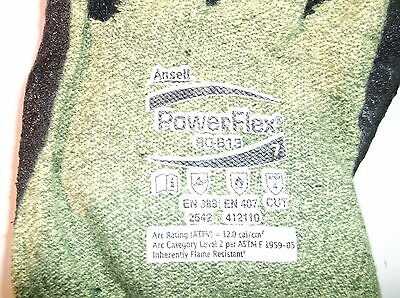 Ansell Powerflex 80-813 Special Purpose Gloves Size 7 (small) Bundle of 12