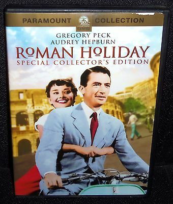 Roman Holiday Special Collector's Edition Dvd W/gregory Peck, Audrey Hepburn