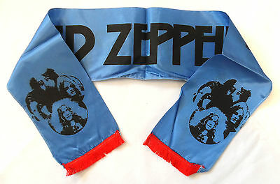 LED ZEPPELIN 'Group' Vintage Concert Scarf