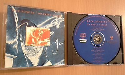 DIRE STRAITS autograph MARK KNOPFLER signed live cd ON EVERY STREET concert 2011