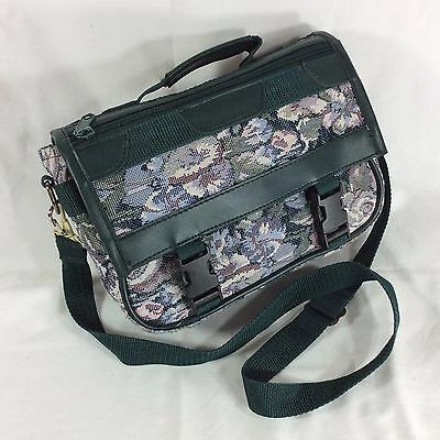 Floral Tapestry LDS Scripture Case Standard Mormon Quad Tote Carrying Zipper