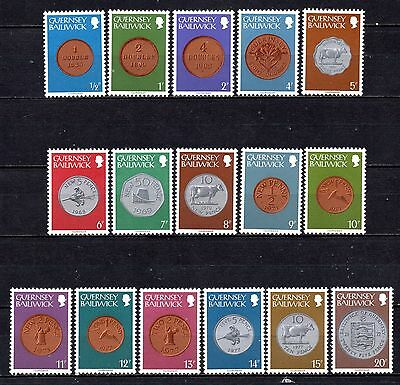 Guernsey unmounted mint set from stock book,stamps as per scan(2401)