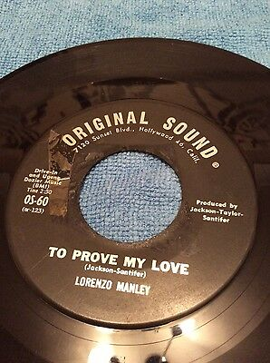 Northern Soul Lorenzo Manley -Swoop Down On You