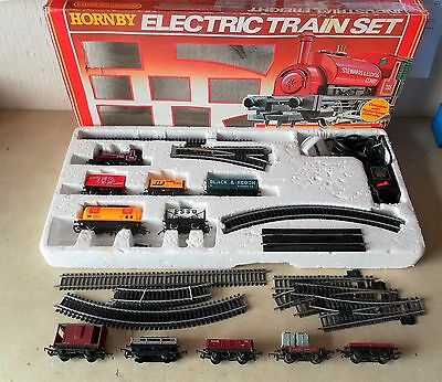 Hornby Industrial Freight Set  with extras