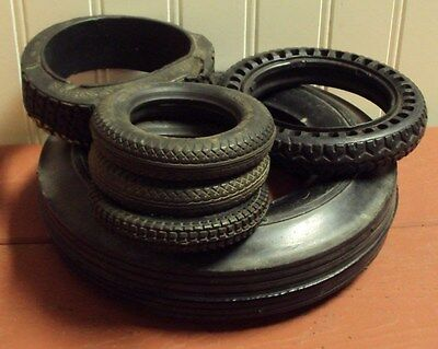 Vintage Assorted Tire Ashtrays Without Glass Inserts, Pharis, General...