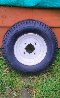 Trailer wheel and tyre 4.80 / 4.00 - 8