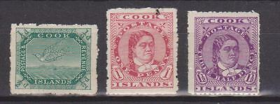 Cook Islands 1913/14 Values Mounted Mint