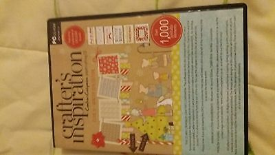 New Cd Rom From Crafters Companion Two Cd,s