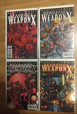 Deadpool 57-60 Agent Of Weapon X 1-4
