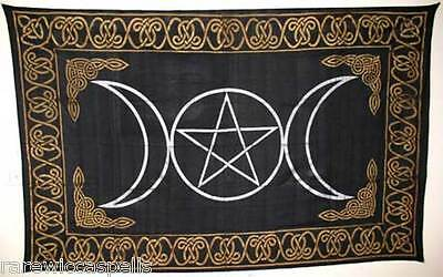 """GREAT GIFT Tapestry: Triple Goddess (72"""" x 108"""") Wicca Pagan #ftcpstg"""